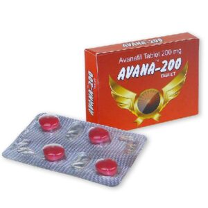 Buy Avana 200mg - Avanafil tablets