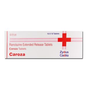 Buy Caroza 500mg - Ranolazine Extended Released Tablets