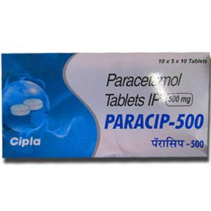 Buy Paracip 500mg - Paracetamol